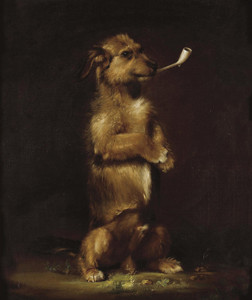 Art Prints of Standing to Attention by Edwin Henry Landseer