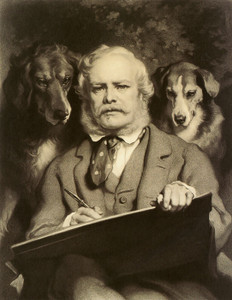 Art Prints of The Connoisseurs by Edwin Henry Landseer