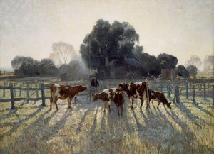 Art Prints of Spring Frost by Elioth Gruner