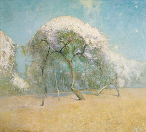 Art Prints of Spring Landscape by Emil Carlsen