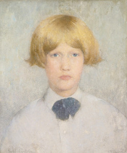 Art Prints of Portrait of Dines by Emil Carlsen