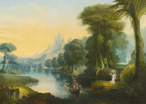 Art Prints of The Voyage of Life Youth by Erastus Salisbury Field