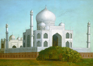 Art Prints of The Taj Mahal by Erastus Salisbury Field