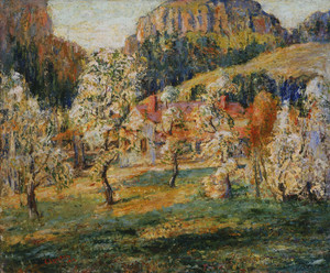 Art Prints of May in the Mountains by Ernest Lawson