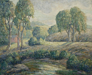 Art Prints of Romantic Landscape by Ernest Lawson