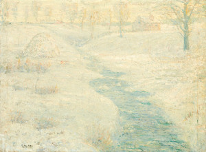 Art Prints of The Frozen Haystack by Ernest Lawson