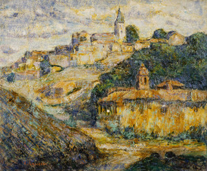 Art Prints of Twilight in Spain by Ernest Lawson