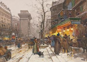 Art Prints of Boulevard de Donne Nouvelle by Eugene Galien-Laloue