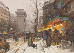 Art Prints of Boulevard de Donne Nouvelle by Eugene Galien-Laloue