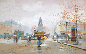 Art Prints of Place Chichy by Eugene Galien-Laloue