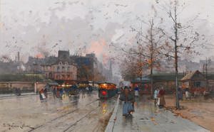 Art Prints of Porte de Charillon by Eugene Galien-Laloue
