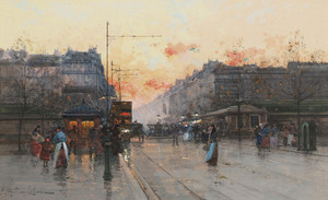 Art Prints of Paris, Porte de Chatillon by Eugene Galien-Laloue