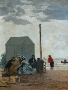 Art Prints of Deauville by Eugene Boudin