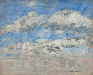 Art Prints of Study of the Sky by Eugene Boudin