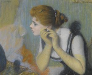 Art Prints of The Pearl by Federico Zandomeneghi
