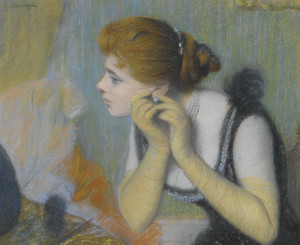 Art Prints of The Pearl by Federico Zandomeneghi