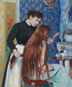 Art Prints of The Hairstyle by Federico Zandomeneghi