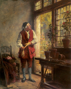 Art Prints of The Gardener by Frank Moss Bennett