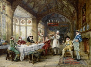 Art Prints of The Roast Beef of Old England by Frank Moss Bennett
