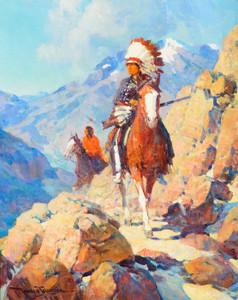 Art Prints of Thunderbird by Frank Tenney Johnson