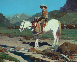 Art Prints of Valley of the Moon by Frank Tenney Johnson
