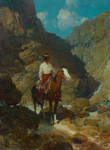 Art Prints of Navajo Scout by Frank Tenney Johnson