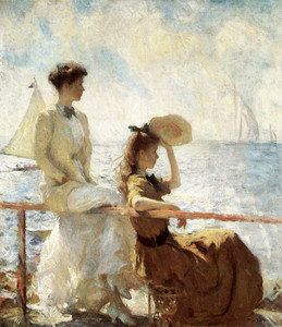 Art Prints of Summer Day by Frank Weston Benson