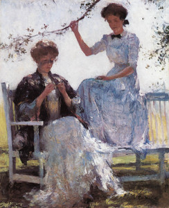 Art Prints of Sunshine and Shadow by Frank Weston Benson