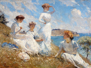 Art Prints of Summer by Frank Weston Benson