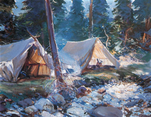 Art Prints of The Camp, 1925 by Frank Weston Benson