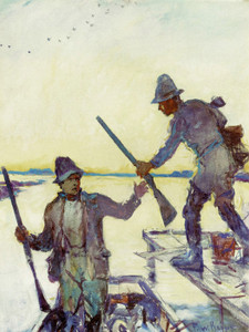 Art Prints of The Start by Frank Weston Benson