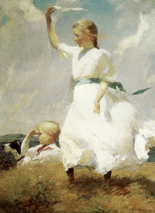 Art Prints of The Hilltop by Frank Weston Benson