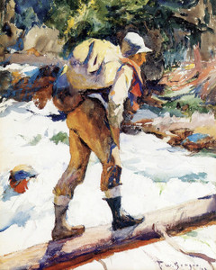 Art Prints of The Hiker by Frank Weston Benson