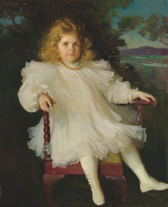 Art Prints of Portrait of Marjorie Coldwell Westinghouse by Frank Weston Benson