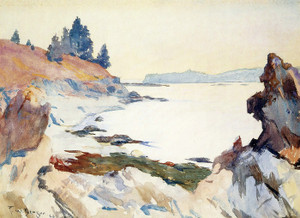 Art Prints of Our Cove by Frank Weston Benson