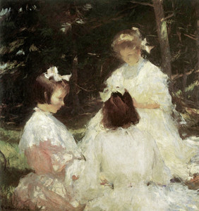 Art Prints of Children in the Woods II by Frank Weston Benson