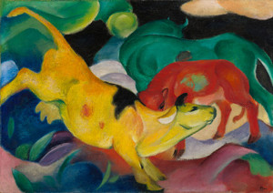 Art Prints of Cows by Franz Marc