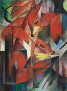 Art Prints of Foxes by Franz Marc