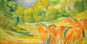 Art Prints of Large Landscape by Franz Marc