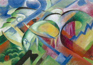Art Prints of The Sheep by Franz Marc