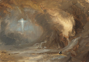 Art Prints of Vision of the Cross by Frederic Edwin Church