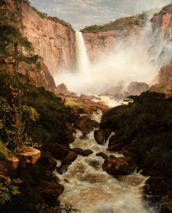 Art Prints of Falls of Tequendama near Bogata, New Granada by Frederic Edwin Church