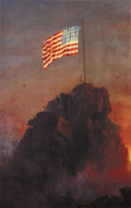 Art Prints of Our Flag by Frederic Church