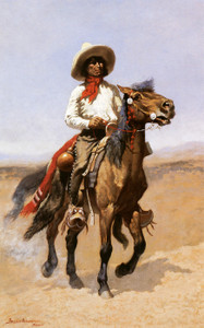 Art Prints of A Regimental Scout by Frederic Remington