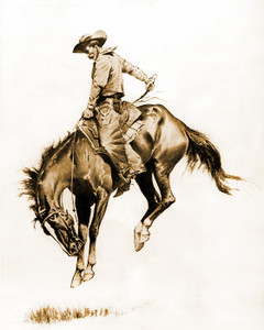 Art Prints of A Sunfisher by Frederic Remington
