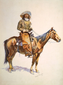 Art Prints of Arizona Cowboy by Frederic Remington
