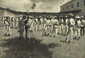 Art Prints of Disbanding Gomez Army by Frederic Remington