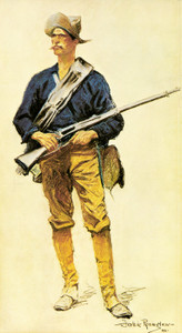Art Prints of Infantry Soldier by Frederic Remington