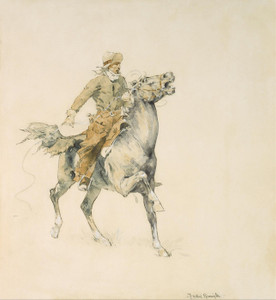 Art Prints of The Cowboy by Frederic Remington