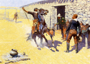 Art Prints of The Apaches by Frederic Remington